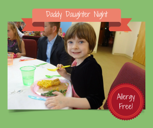 An Allergy-free Daddy Daughter Night