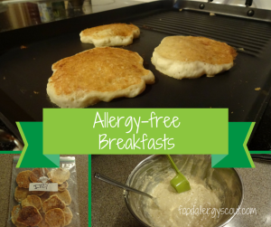 Allergy-free Breakfasts at Our House