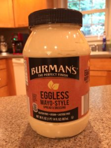 Photo of Burman's Eggless Mayo-style allergy-friendly spread