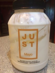 Photo of Just Mayo brand mayonnaise substitute