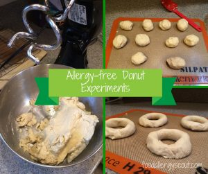 Allergy-free donut experiments
